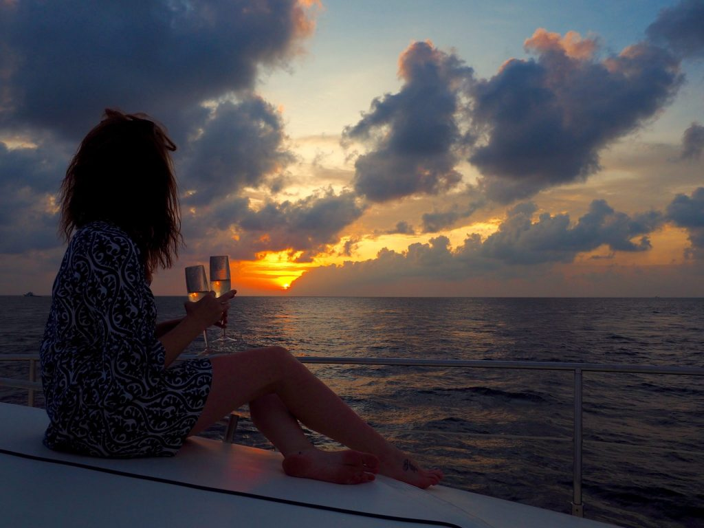 Sunset Cruise in the Maldives