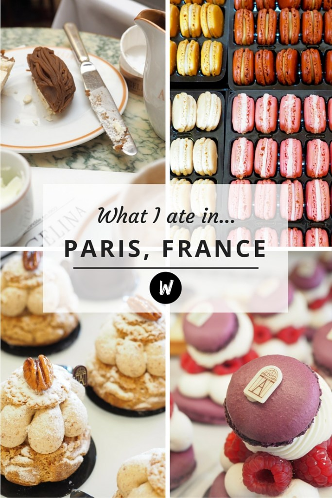 What I ate in Paris