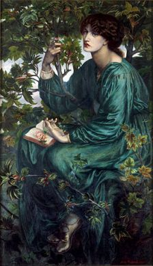"""Dante Gabriel Rossetti - The Day Dream - Google Art Project"" by Dante Gabriel Rossetti"
