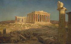 Parthenon Fredric Edwin Church
