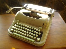 typewriter writer write