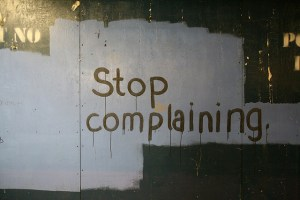 Aitor Calero Flickr Stop complaining