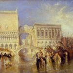 Joseph Mallord William Turner - Venice, the Bridge of Sighs