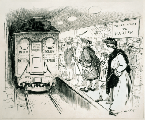 """Interborough Rattled Transit Restored"" by Rogers, W. A. (William Allen), 1854-1931, artist. -"