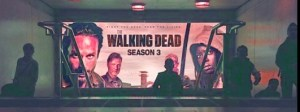 walking dead advertising film