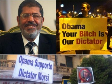 Egypt protests Morsi and Obama