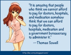 A Thomas sowell quote graphic
