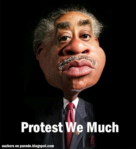 A rev al sharpton 1, obama cartoons