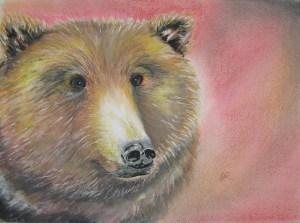 Bear by artist Madeleine Tuttle