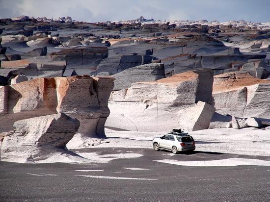 Campo de Piedra Pomez – A White Labyrinth Landscape