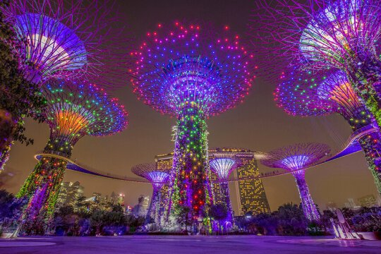 Gardens by the Bay – An Avatar World in Singapore