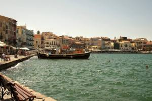 Chania's Harbor - @World Travel Mama