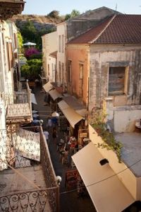 Chania's Old Town - view from our hotel - @World Travel Mama