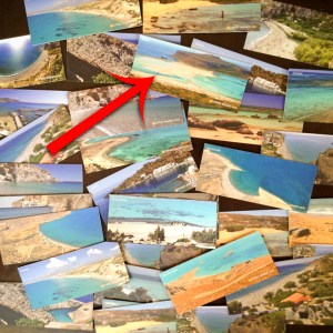 Heraklion, beach cards - @World Travel Mama