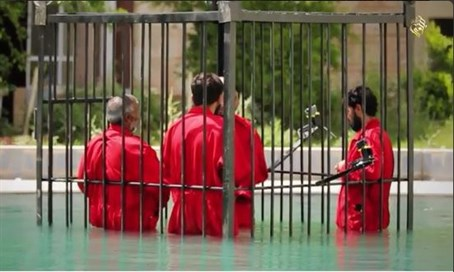 Publicity stunt? Struggling ISIL reportedly executes 25 in acid bath
