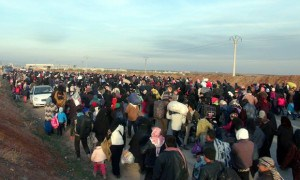 Report finds record 40.8 million people displaced by conflict in 2015