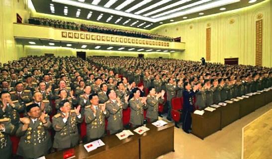 South Korea's Park rains on Kim Jong Un's coronation parade