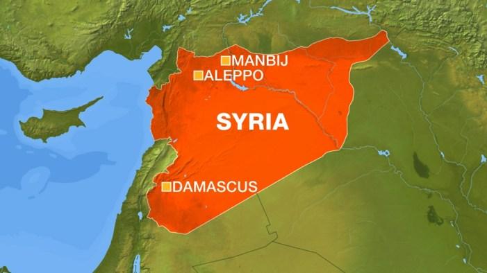 U.S.-backed Kurdish-Arab forces enter ISIL stronghold
