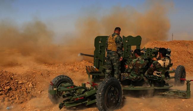 Iraqi forces advance toward airbase near Mosul