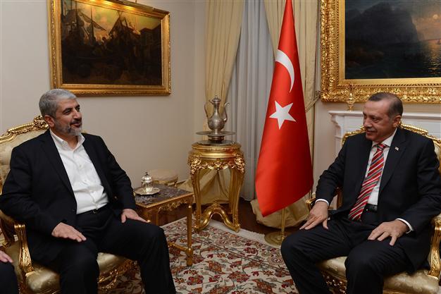 Ahead of normalization with Israel, Turkey's Erdogan meets Hamas leader