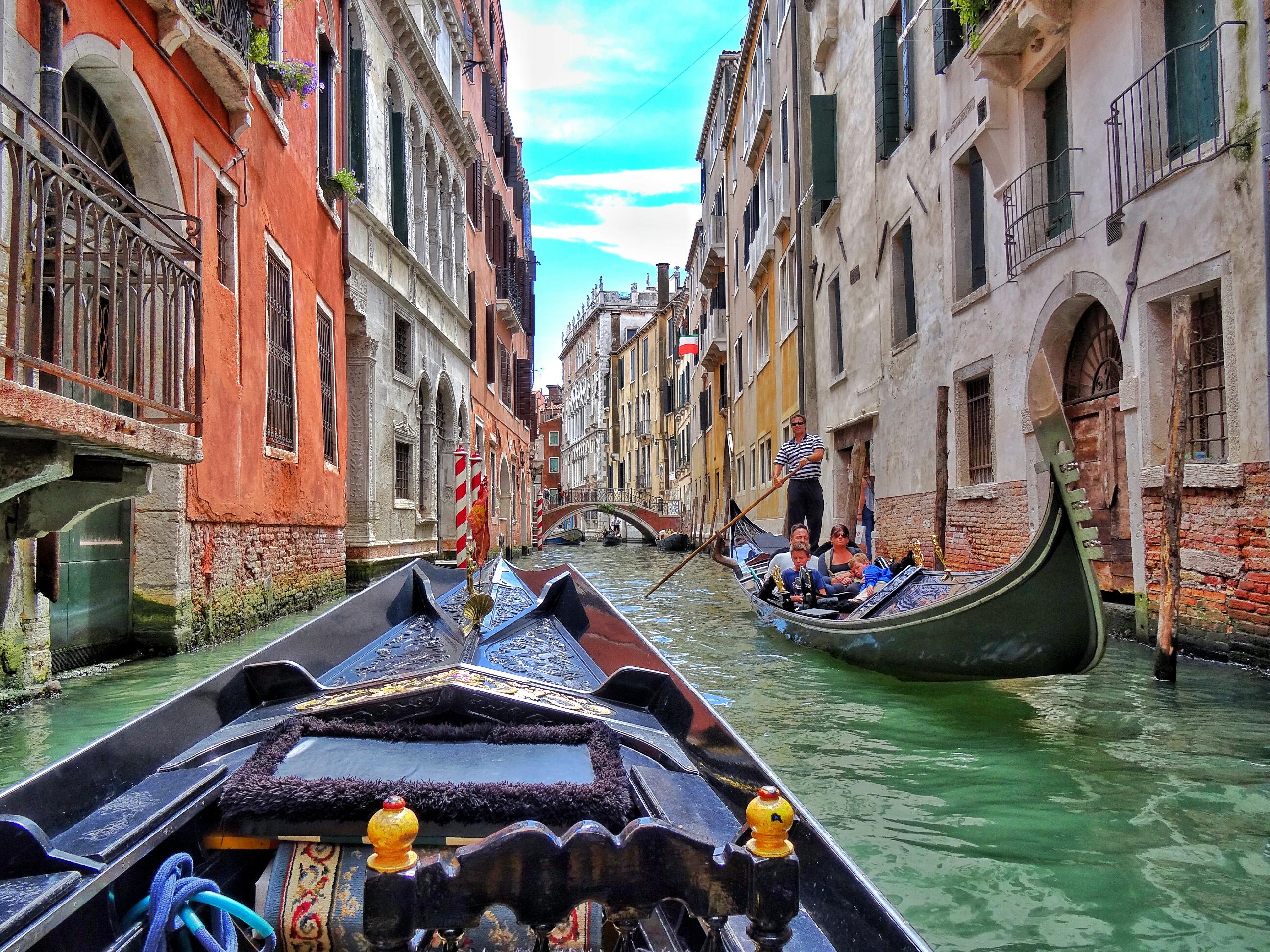Take A Gondola Ride In Venezia WORLD WANDERISTA