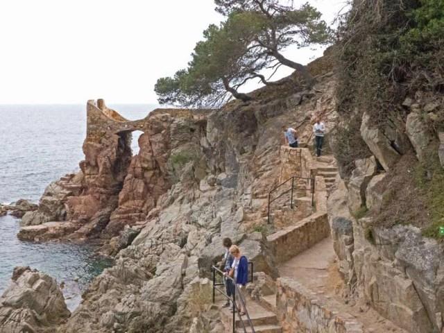 Coastal path, Lloret de Mar - www.worldwidewriter.co.uk