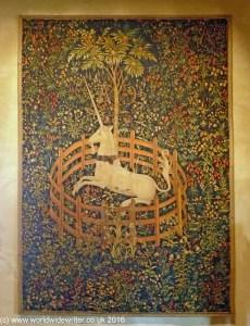 Unicorn tapestry