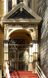 Doorway of Alamo Square