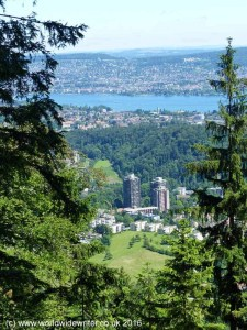 A view of Lake Zurich