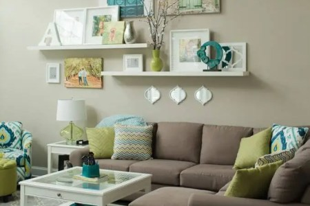 wall decor ideas for living room 4