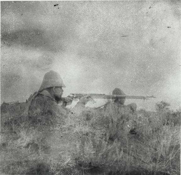 First Combat Photo