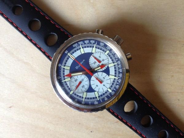 Bulova chronograph