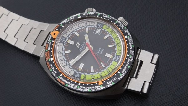 Enicar Sherpa Guide 600 GMT