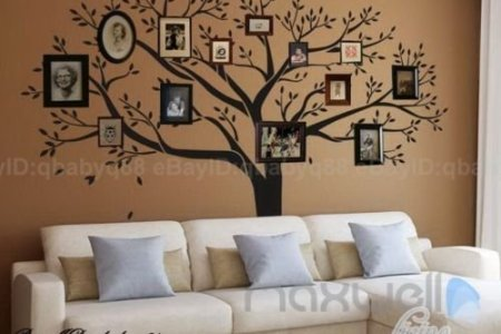 giant family photo tree wall decor wall sticker vinyl art home decals room decor mural nch wall decal stickers living room bed baby room 0