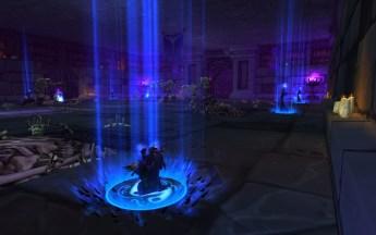 Boneweavers canalizando um feitiço na Câmara de Summon em Scolomântia