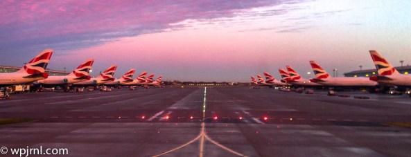 British Airways Tails -