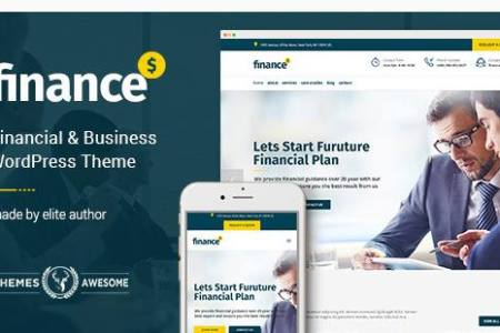 finance review themes awesome financial business accounting wordpress theme