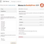 BuddyPress 1.9 Will Include Dynamic Menu Links