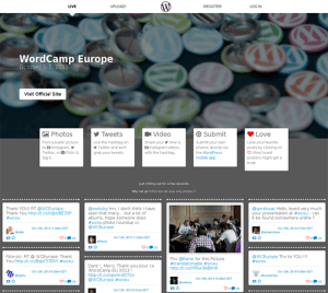 WP Armchair Monitoring WordCamp Europe