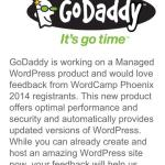 It's Go Time! GoDaddy Teases Future Managed WordPress Hosting