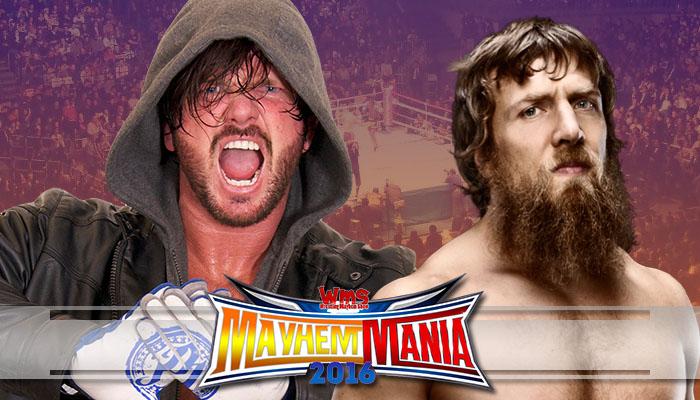 AJ Styles vs Daniel Bryan
