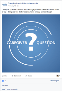 Caregiver Question Post