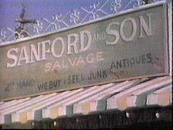 sanford and son junk yard