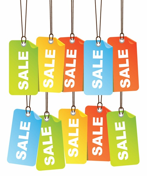 red hot sales tags