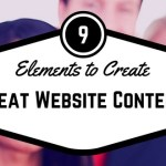 9 Elements to Create Great Website Content