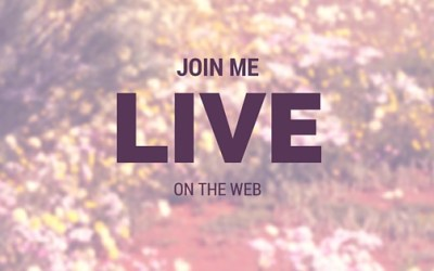 Join Me Live On The Web