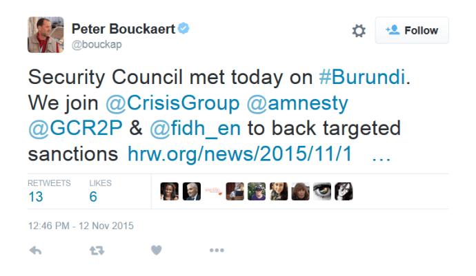 Burundi Sanctions