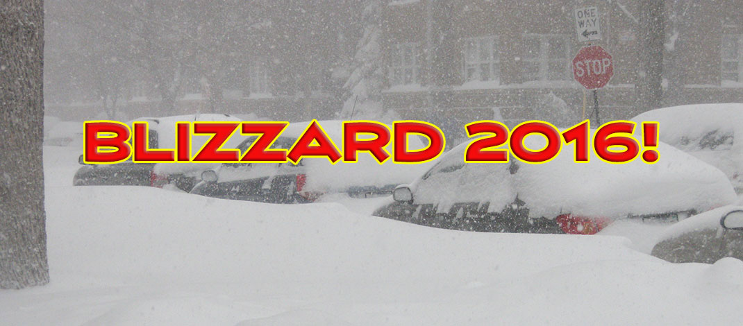 Global Warming Blamed For Only 30 Inches Of 2016 Blizzard Snowfall
