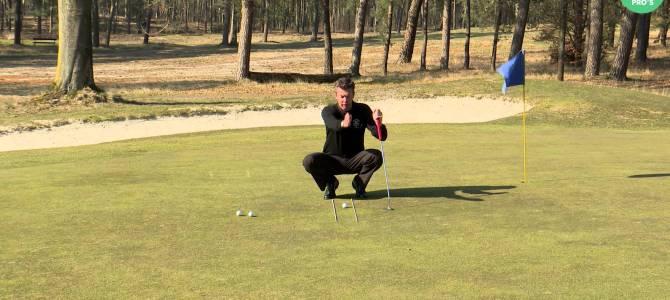 Golf tip: putten met de juiste lijn en snelheid