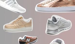 Sneaker Metallic für Damen